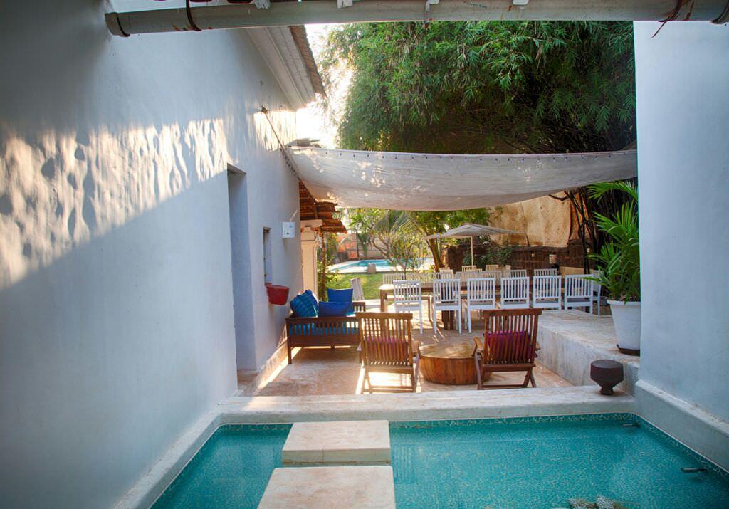 Villas in Goa, Villa Poo, Sit Out