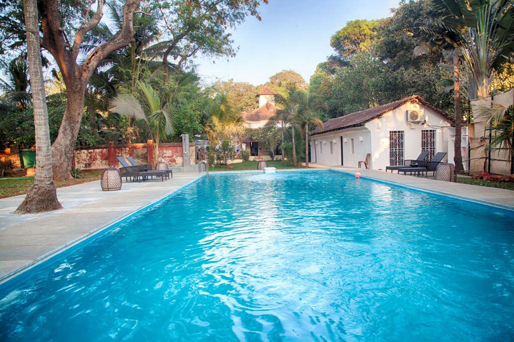 Luxury Villas in Goa, Villa Poo, Swimming Pool