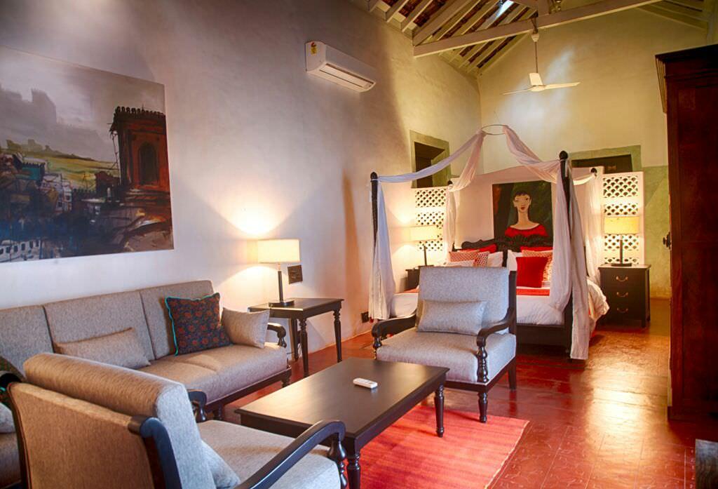 Luxury Villas in Goa, Villa Poo, Bedroom