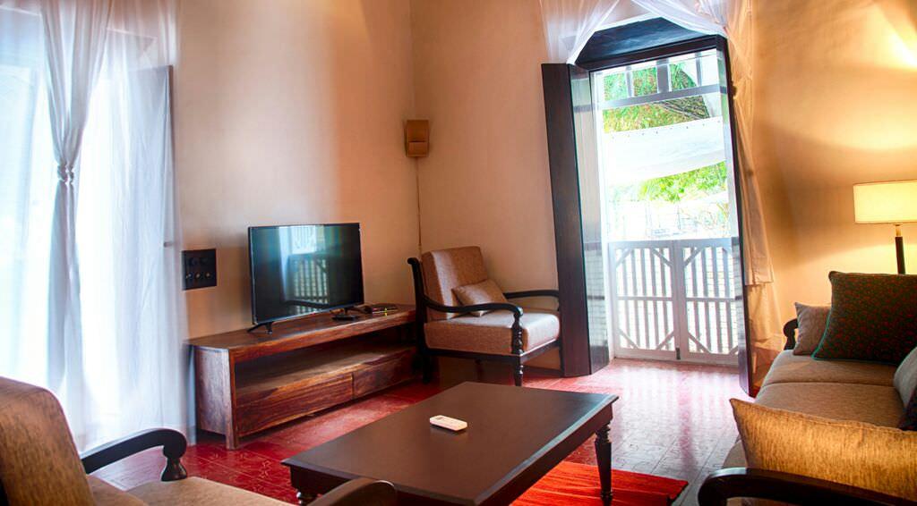 Luxury Villas in Goa, Villa Poo, Living Room