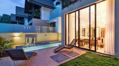Luxury Villa in Goa, Villa Flavia, Swimming Pool