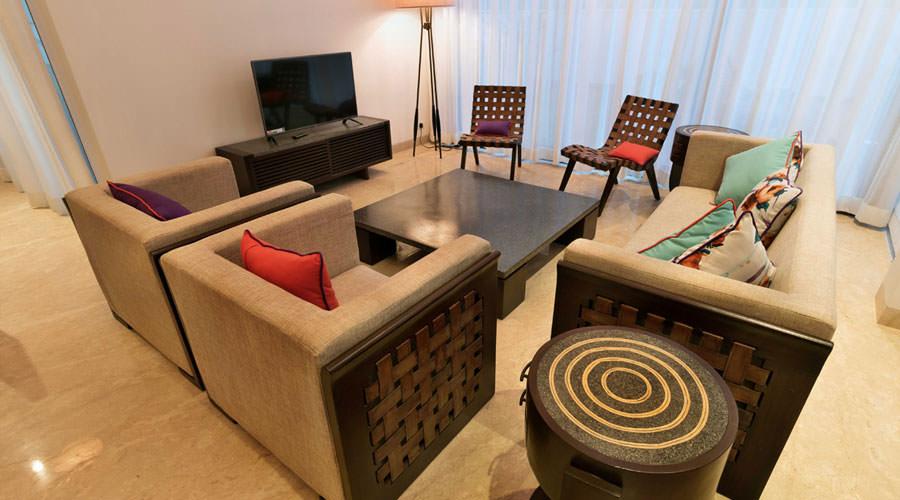 Luxury Villa in Goa, Villa Flavia, Living Room