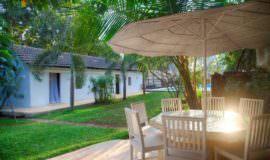Luxury Villas in Goa, Villa Poo, Lawn Sit Out