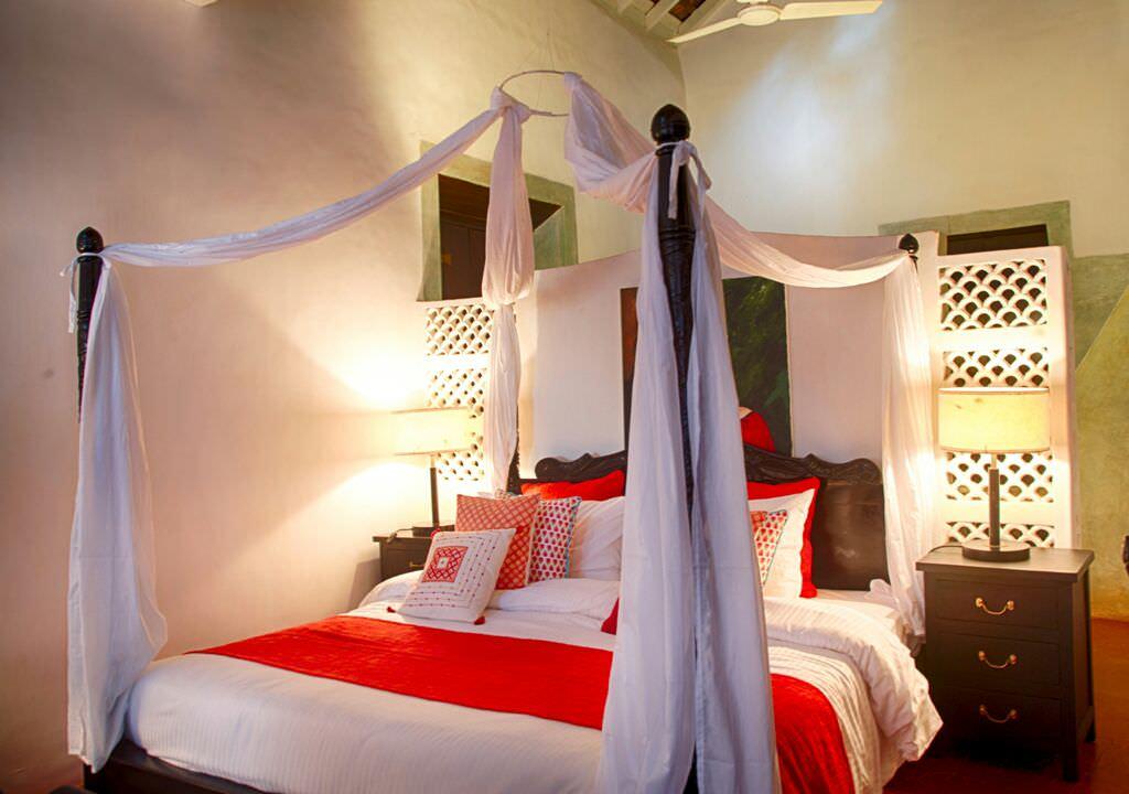 Villas in Goa, Villa Poo, Bedroom