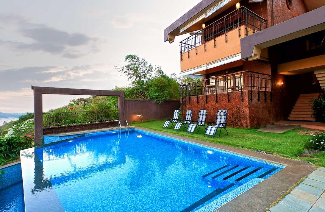 Villas in Goa, Sky View - Swimming Pool,4 bedroom villa