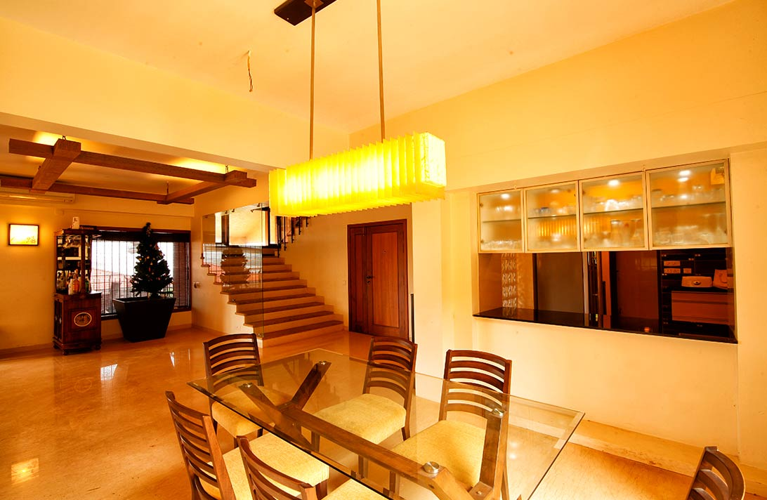 Villas in Goa, Sky View, Dining