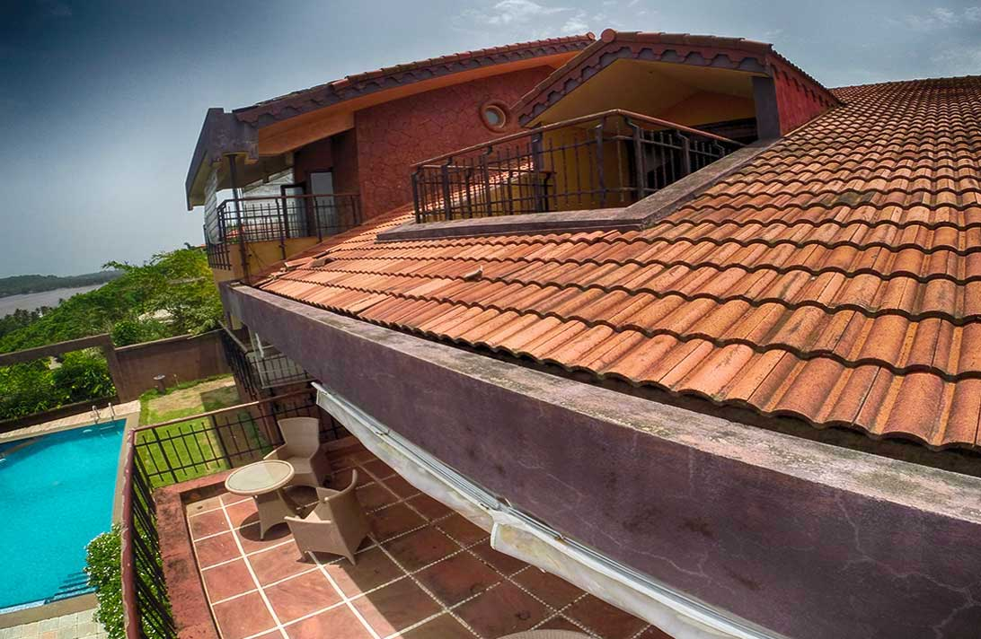 Villas in Goa, Sky View, Outer View