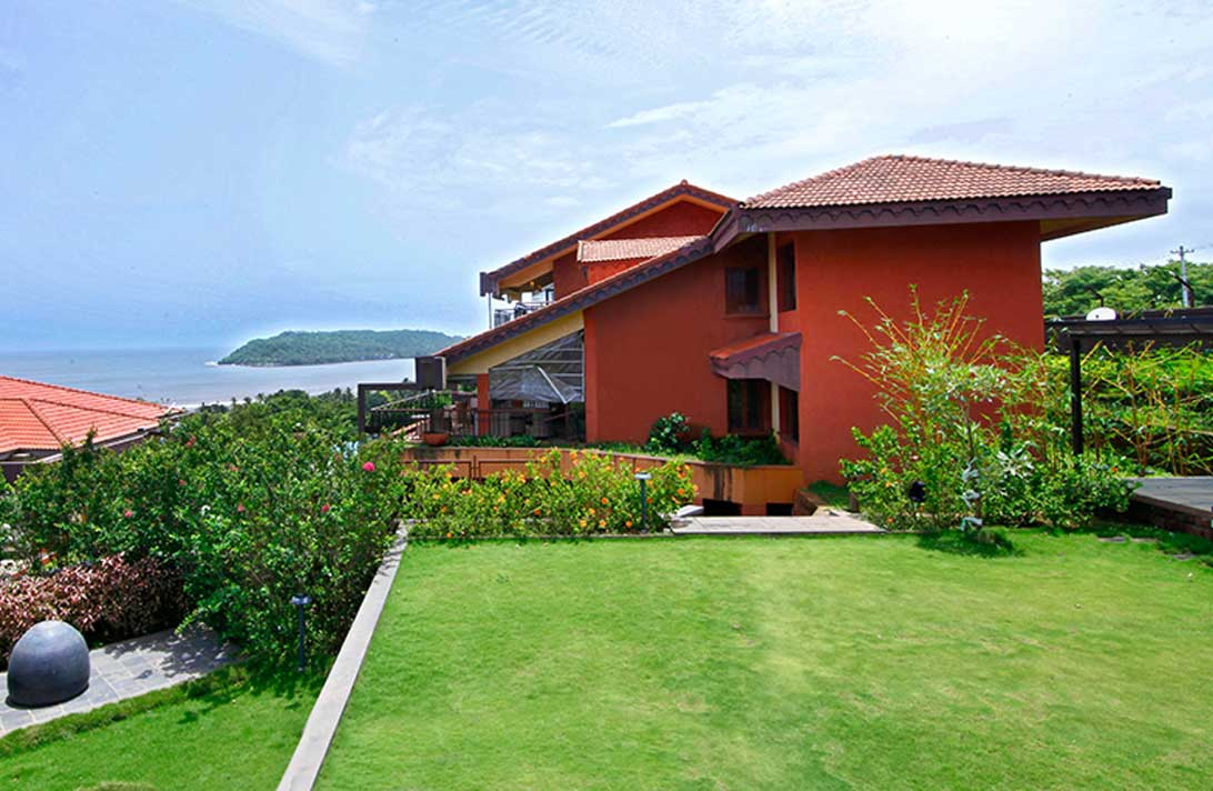 Villas in Goa, Sky View, Villa View