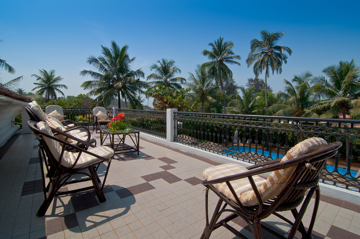 Villas in Goa, Villa Alina - Sit Out