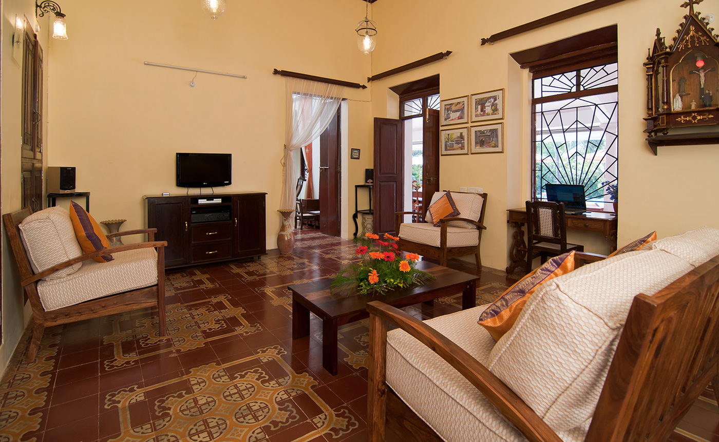 Villas in Goa, Villa Alina - Living Room