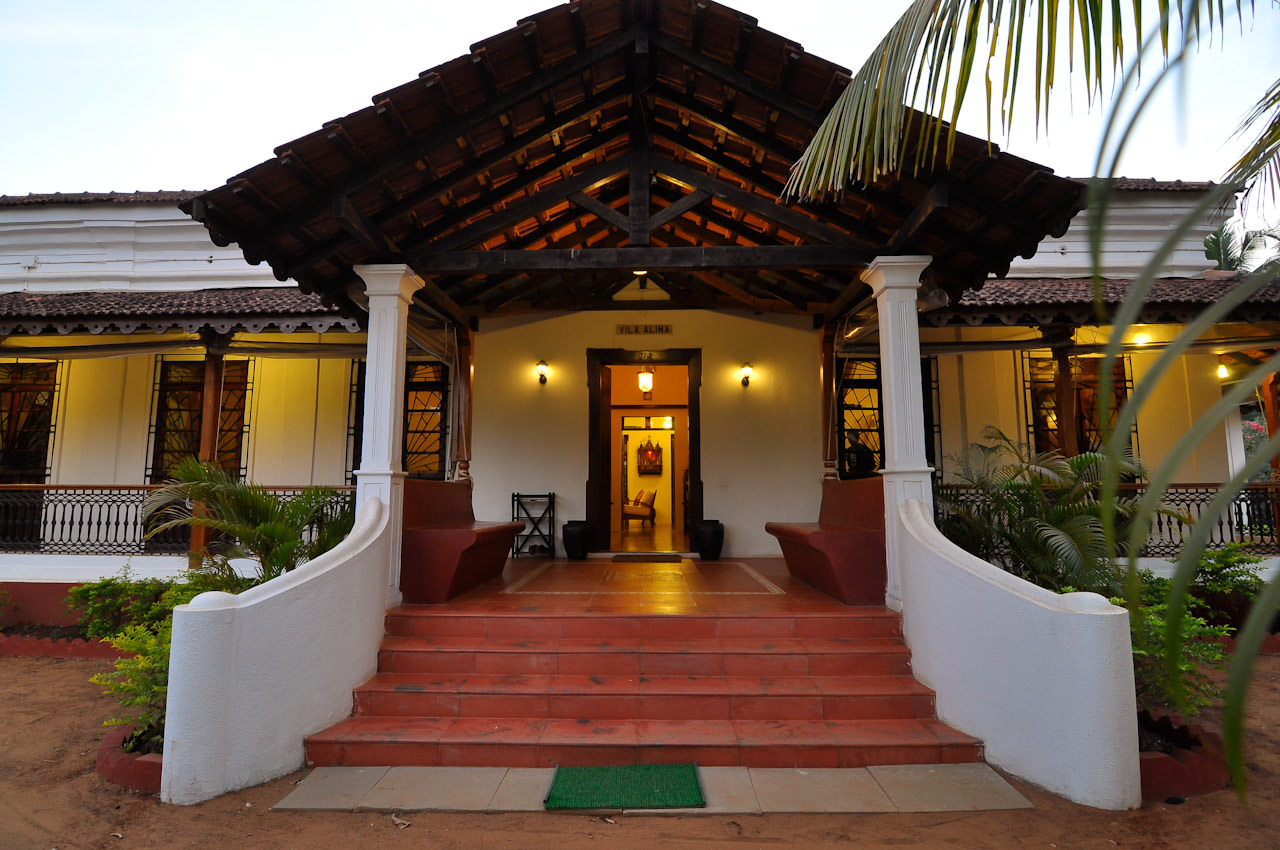 Villas in Goa, Villa Alina Entrance