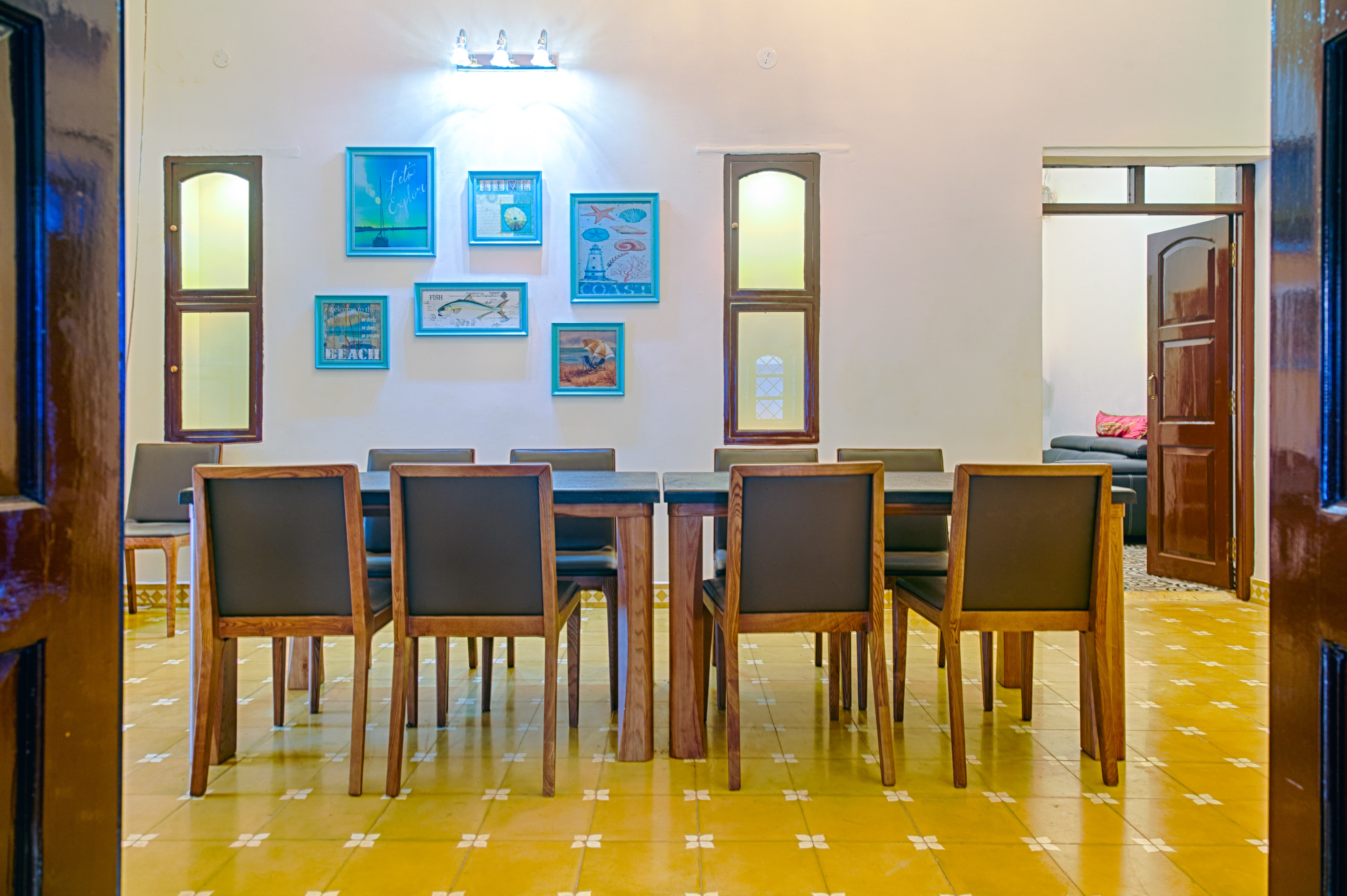 Villas in Goa, Villa Kings, Dining