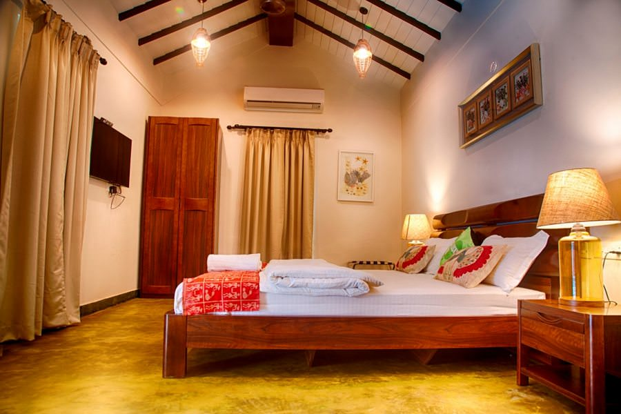 Villas in Goa, Villa Kings, Bedroom