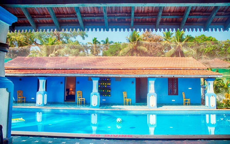 Villas in Goa, Villa Kings, Pool View