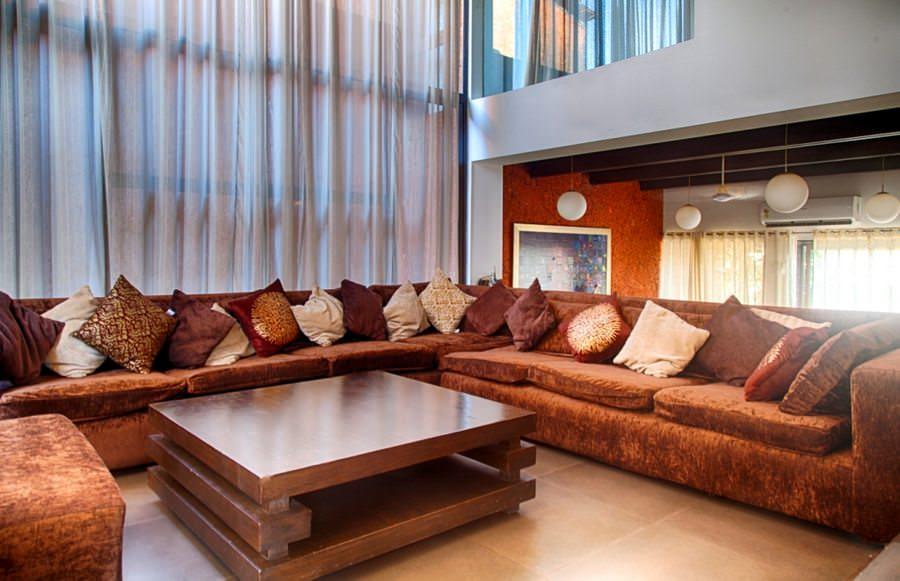 Villas in Goa, Villa Rio, Living Room
