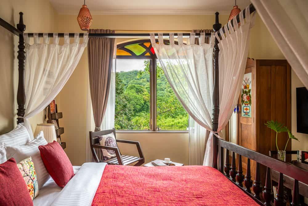 Bedroom of Villa Fortune